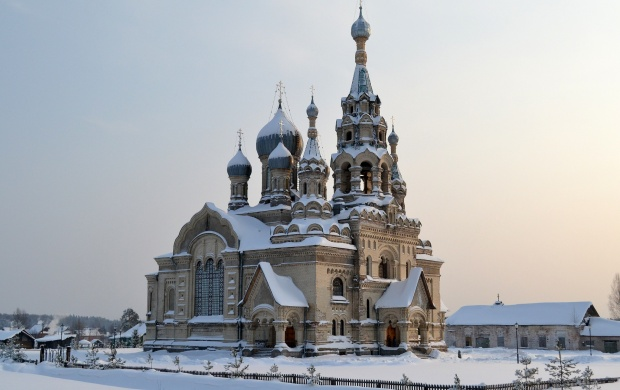 Church In Winter (click to view)