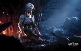 Ciri Meditating The Witcher 3 Wild Hunt