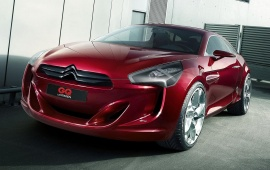 Citroen GQ Concept Red