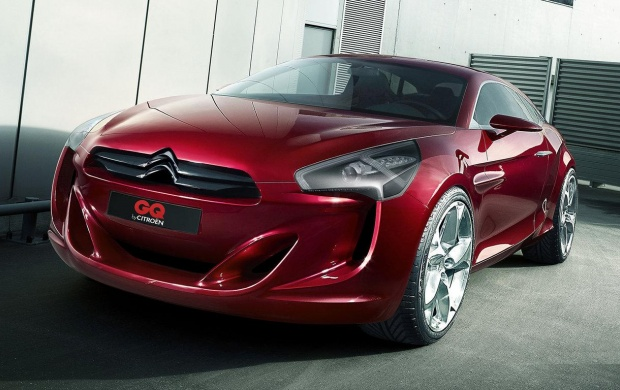 Citroen GQ Concept Red (click to view)