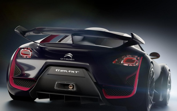 Citroen Survolt Concept Back (click to view)
