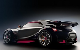 Citroen Survolt Concept Black