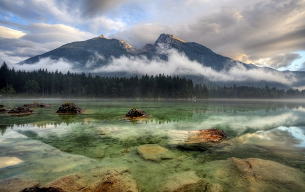 Clear Mountain Lake (click to view)