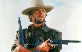 Clint Eastwood With Gun