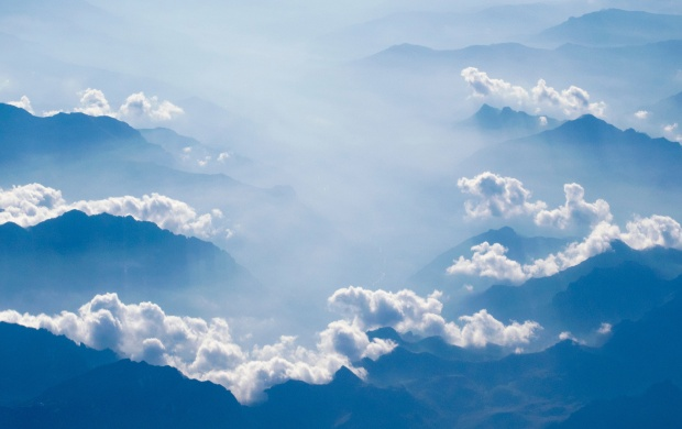 Clouds Above The Mountains (click to view)