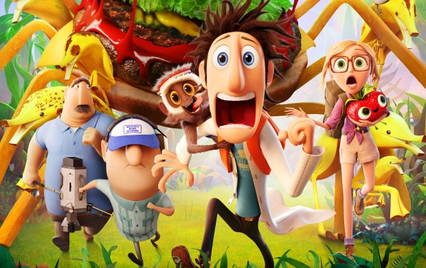 Cloudy With A Chance Of Meatballs 2 Happy (click to view)