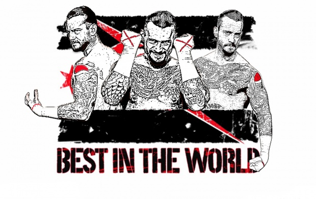 CM Punk Art (click to view)