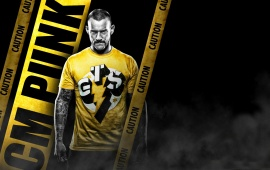 CM Punk Caution