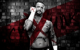 Cm Punk Dark Background
