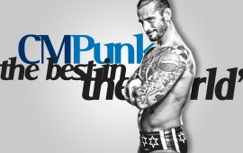 Cm Punk Dashing Look