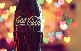 Coca-Cola Lights Hearts