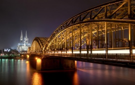 Cologne Cathedral Church Night