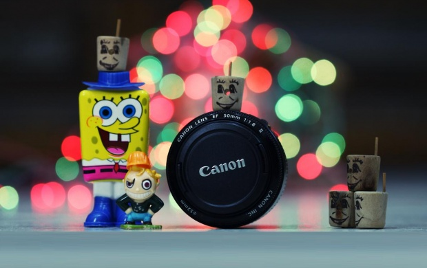 Color Canon Lens (click to view)