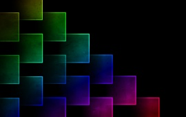 Color Cubes Background
