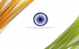 Color On Indian Independence Day