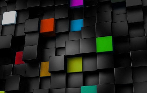 Colorful Cubes (click to view)