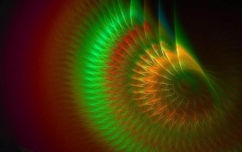 Colorful Fractal Twirl