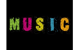 Colorful Music Letters