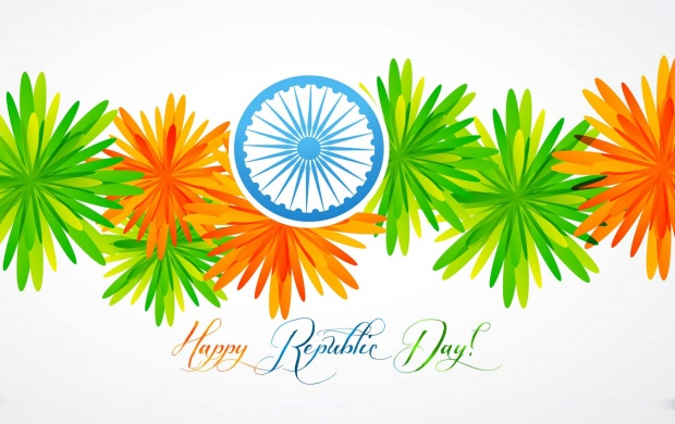 Colourful Republic Day Flowers (click to view)