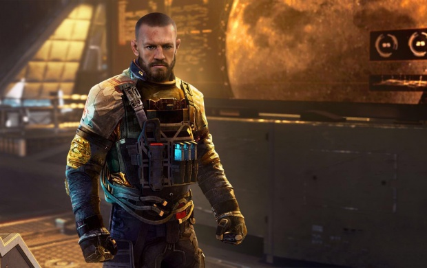 Conor McGregor In COD Infinite Warfare (click to view)
