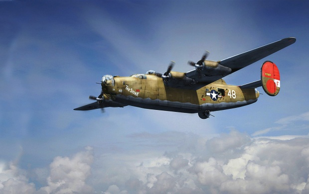 Consolidated B-24 Liberator (click to view)