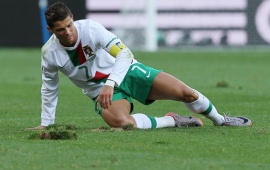 Cristiano Ronaldo playing For National Team