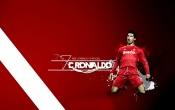 Cristiano Ronaldo Red Background