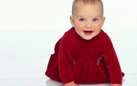 Cute Babies In Red (click to view)