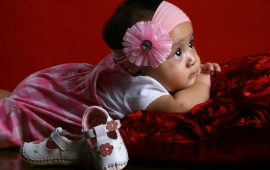 Cute Baby Waiting