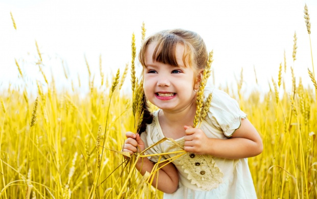 Cute Little Girl Happy (click to view)