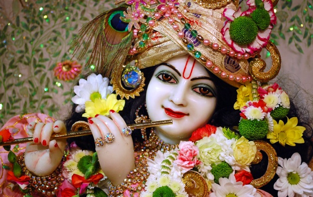 Cute Lord Krishna Wallpapers