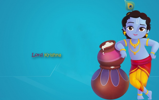 Cute Lord Krishna (click to view)