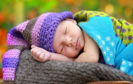 Cute Sleeping With Hat