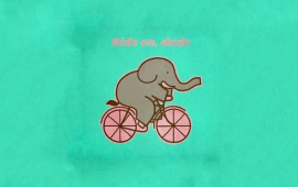 Cycling Elephant