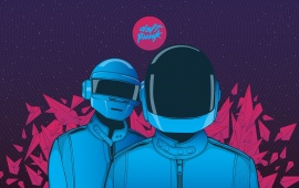 Daft Punk Dark Art
