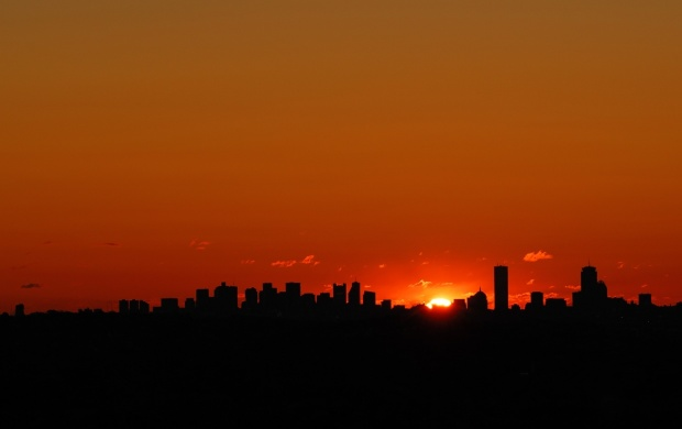 Dallas City Sunset (click to view)