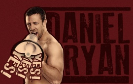 Daniel Bryan Red Background