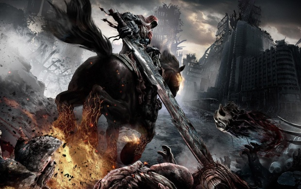 Darksiders War Wallpaper By: Darksiders II: Death Mask Wallpapers
