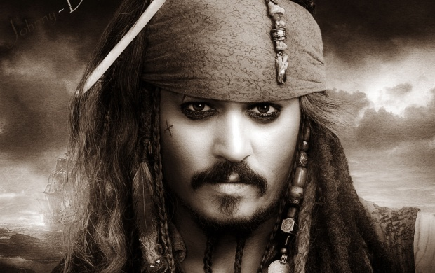 Dashing Johnny Depp Wallpapers