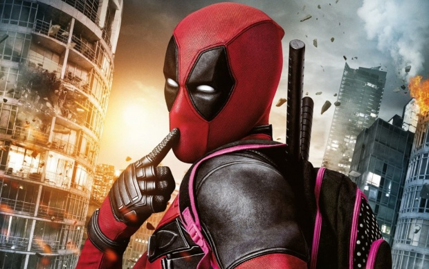 Deadpool Poster Action (click to view)