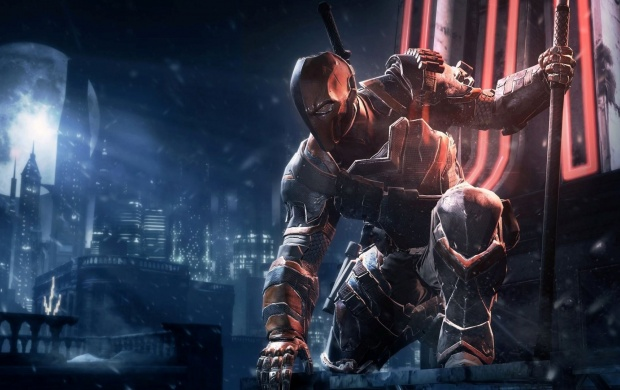 Deathstroke Batman: Arkham Origins Game (click to view)