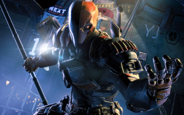 Deathstroke Look (click to view)