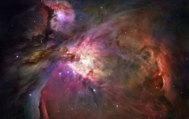 Deep Orion Nebula