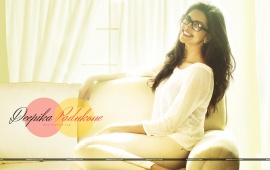 Deepika Padukone Sitting On Sofa