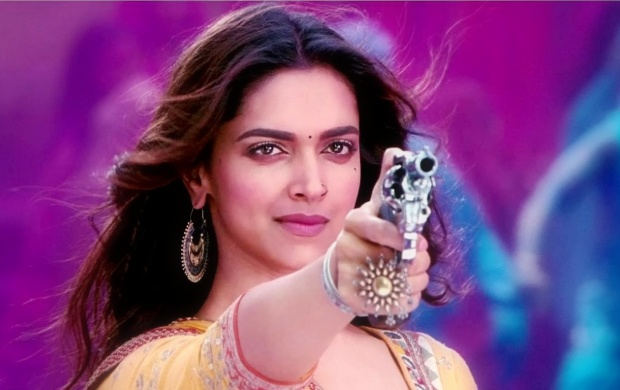 Deepika Padukone With Gun (click to view)