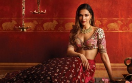 Deepika Padukone's New Tanishq Shoot
