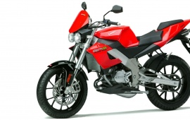 Derbi GPR 125 Nude In Red White