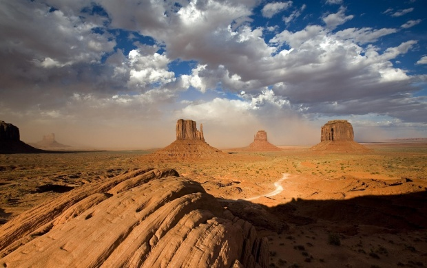 Desert Rock Formations (click to view)