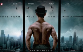 Dhoom 3 Banner 2013