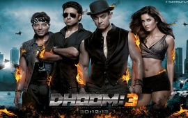 Dhoom 3 New Banner